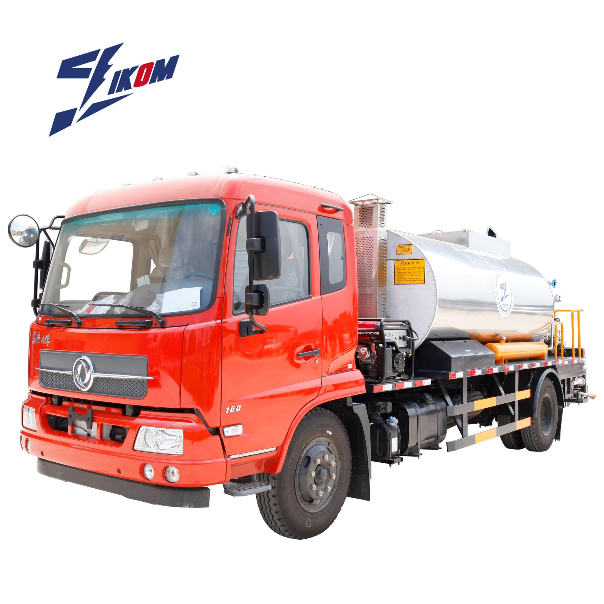 12000L intelligentized hot mix asphalt machine tar