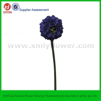 75CM Single Artificial Hydrangea Ball Stem Flower