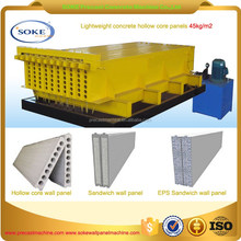 expand fly ash concrete sand coal wall panel making machine