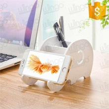 Wingo Office Desktop Creative Cute Elephant Phone Holder Stand for Smart phone Pen holder