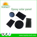Topsky Mini Small Laminited Epoxy Solar Cell Panel 0.5W,1W,2W,5W for solar power charger, solar light and solar sensor