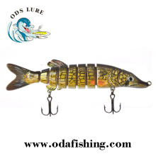 wholesale vivid lifelike Pike fishing lure making supplies