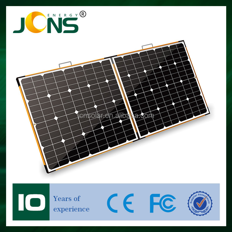 150 Watt High Efficiency solar panel flexible monocrystalline Solar pv Cell Panels