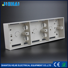 ABS Wall Mounted Enclosure 3 Gang Switch Box