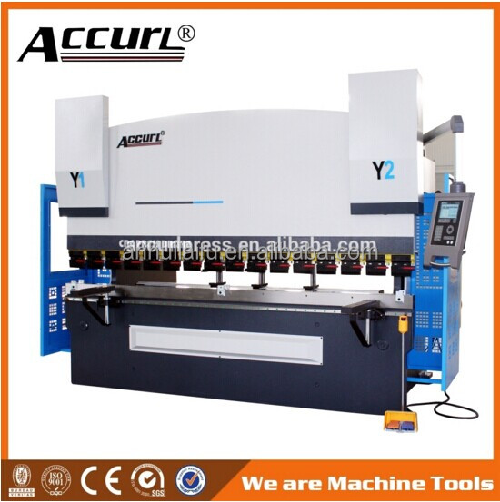 Safety CNC Hydraulic Press Brake Bending Machine 300T Press 3200mm Length with CE Certificate