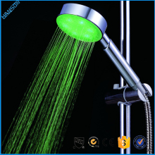 Hydro power led shower head/ rectangule led bathroom