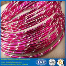 12 Gauge diamond cut aluminum wire for jewelry and crafts