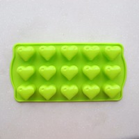 High quality silicone mold for chocolate, jelly and ice, food grade fashion silicone mold manufacturer