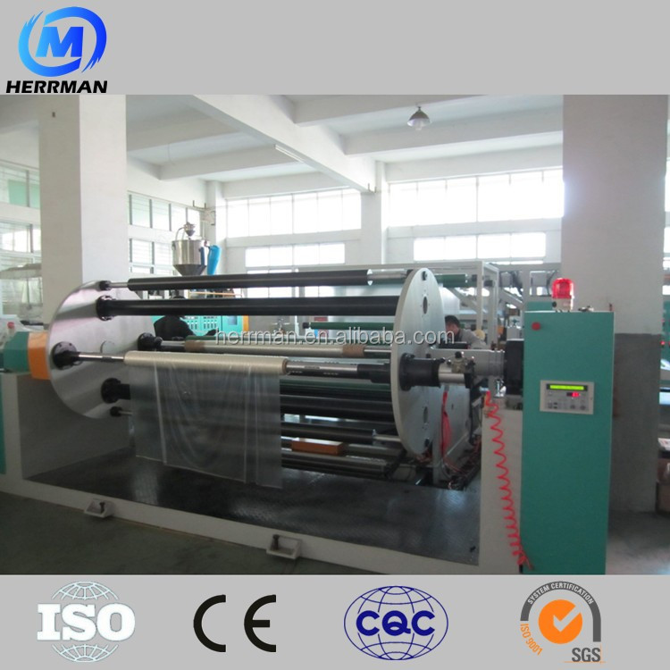 Laminated glass extruder