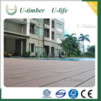 Green material Anti-UV outdoor WPC decking
