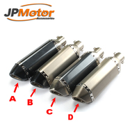Free Sample Factory Outlet Universal 51 GP exhaust Silencer Motorcycle Exhaust Muffler