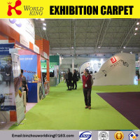 Polyester indor sports exhibition carpet