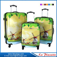 Large capacity 32 inch hard shell 4 wheel trolley luggage