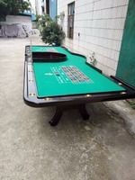 New design roulette wheel table/roulette game table