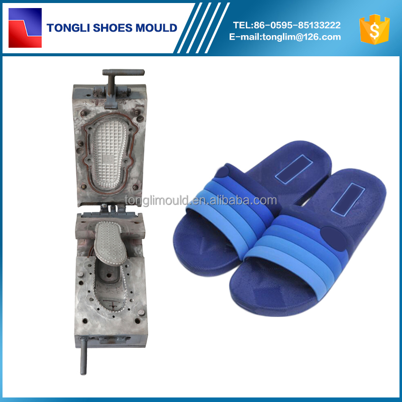 Hot sell Man Slipper Molds Moulding PCU Shoe Factory