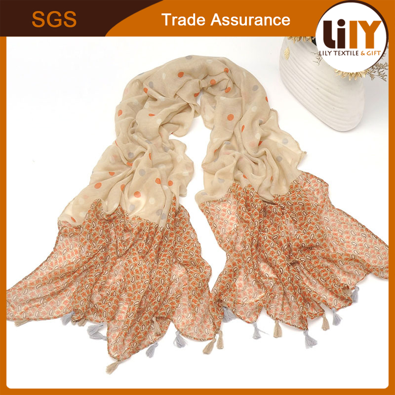 2017 Fashion Womens Cotton Stole Scarves Long Neck Wraps Shawl Scarf