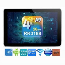 13.3 inch andriod mini pc build in gps tablet