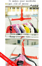 plastic adjustable baby child kids clothes horse drying rack telescopic hangers wholesale