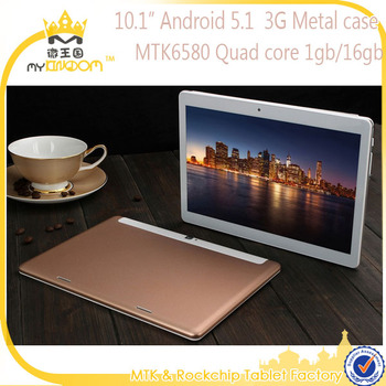 Cheap 10.1inch Android 5.1 MTK6580 Quad core 3G Tablet pc with Phone function
