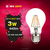 A60 led bulb 220v led bulb e27 Plastic wrapped Aluminum e27 b22 6W energy light bulb