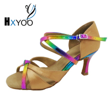 Rainbow Women Latin Dance Shoes