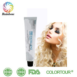 Colortour low ammonia hair color brands natural royal hair color no peroxide hair color cream