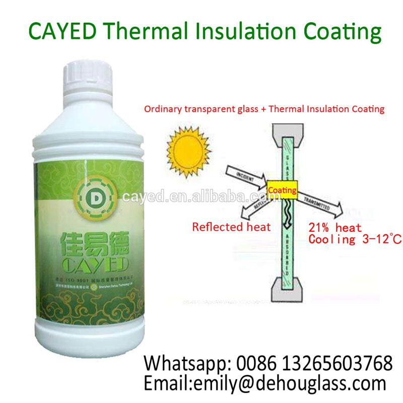 New design car glass coating for building sunshield and heat insulation made in China