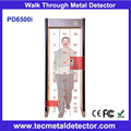 digital walk through metal detector TEC pd6500i security scanner gate