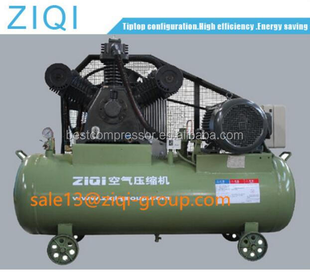 Industrial Portable Belt Driven 3 Cylinder Single Stage Low Pressure Piston Air Compressor