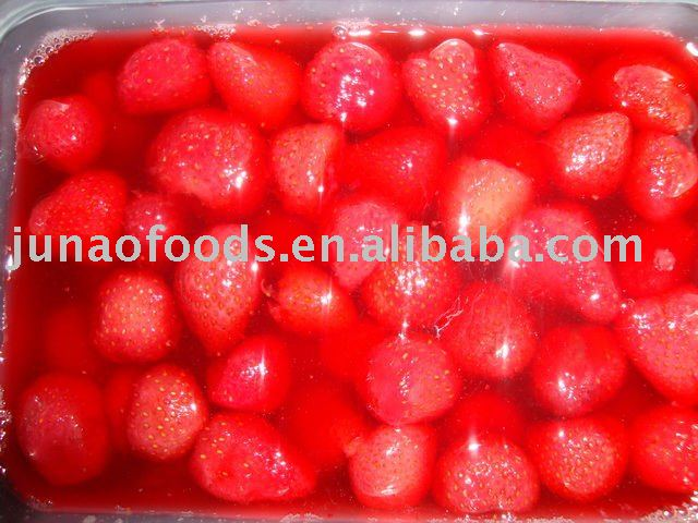 Sweet Taste Snack natural strawberry canned fruit