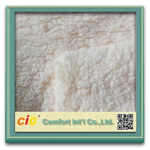curly fur fabric/sheepskin lamb faux fur/sheep fur fabric