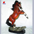 custom realistic animal resin sclupture horse toy, gift toy horse statue