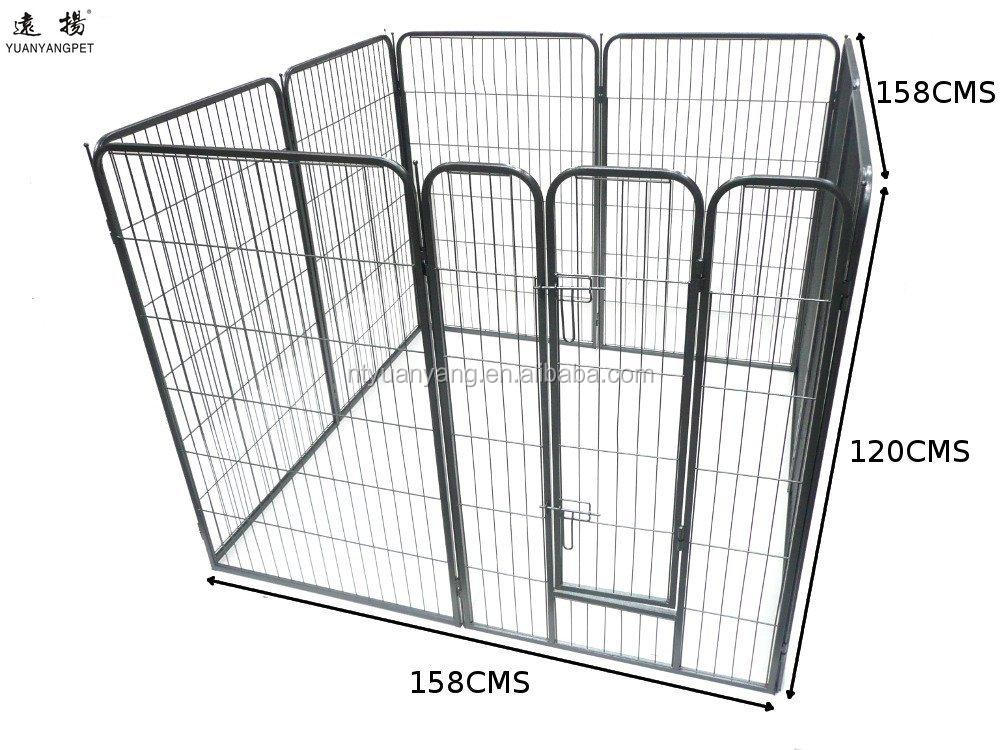 trade assurance Black Heavy Duty strong metal Pet Playpen Exercise Pen