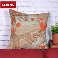 2015 new arrival square tinkle anime pillow case for garden decorative