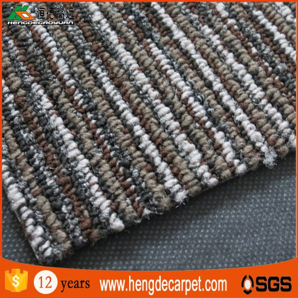 Environmental polypropylene bitumen floor 50*50cm carpets tiles