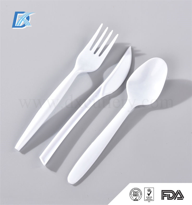 Special Offer Wholesale Portable White Disposable Plastic Cutlery