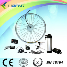 dc motor 24V 250W Electric bicycle hub motor kit with Li-ion battery and LCD display