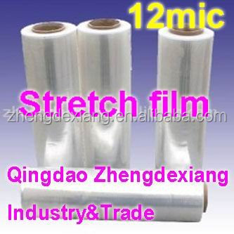 plastic wrapping hand using stretch film