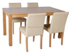 Modern european style ikea wooden table and chair/wooden furniture dining table and chair/diningroom set