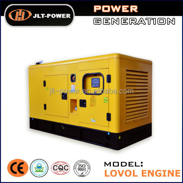 Industrial Three Phase Diesel Generator Set, Top Quality 100kva Generator powed by LOVOL
