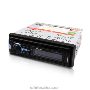 high power detachable panel car usb radio player with fm am receiver BT aux input car auto radio mp3