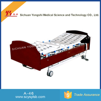 Electric Foldable Metal Frame Hospital Bed for Elderly Care Products Sale