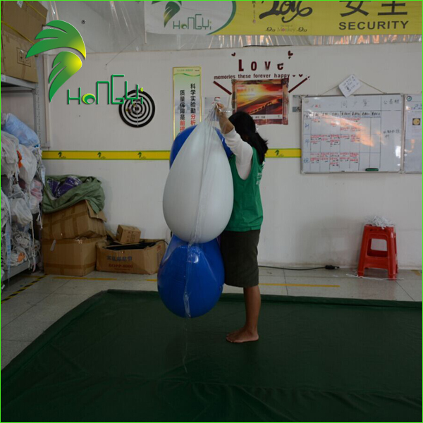 Custom Giant Inflatables LOGO Sign Model / Advertising Inflatable Logo Shape for Promotion Event