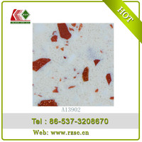 anti explosion red quartz coffee bean countertops cheap