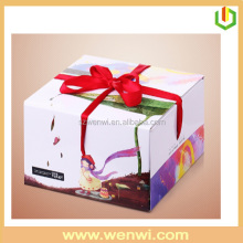 Wholesale decorative cardboard birthday cake box