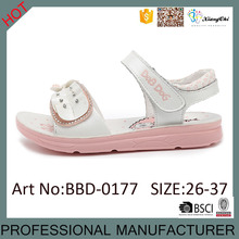 High Quality Cute Lovely Girls Sandals with PU