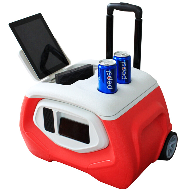 Coolers & Holders,Buckets Type and Plastic Material single beer bottle cooler