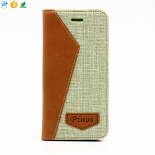 2017 alibaba hot selling flip wallet leather phone Case for iphone 8 and for iphone 7