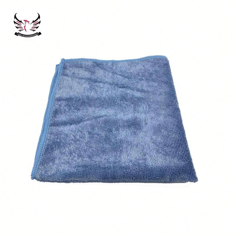 Own Logo Drying Microfiber Shiny Towel For Glass Cleaning