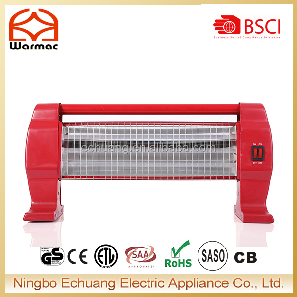 CB Approved 3 Bar 1200W Quartz Room Heater